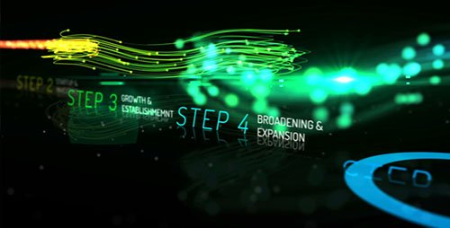 Rainbow Corporate Timeline Evolution - Project for After Effects (Videohive)
