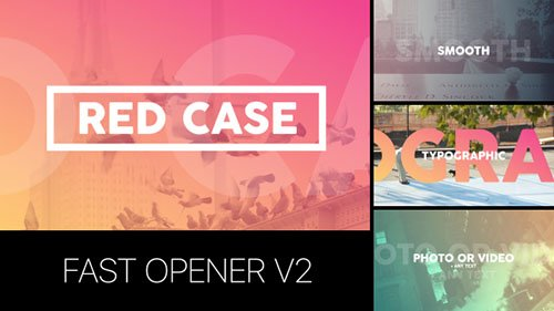 Fast Opener v2 - Project for After Effects (Videohive)