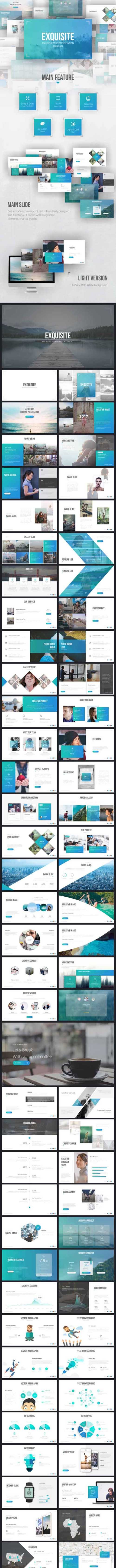 Exquisite Multipurpose Presentation Template 19564408