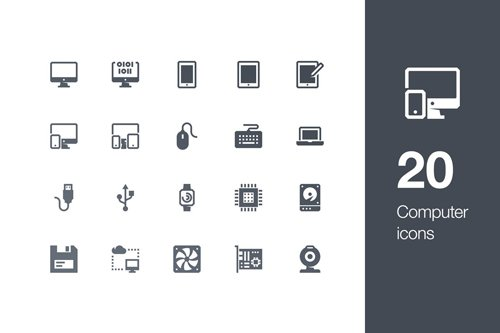 20 Computer icons