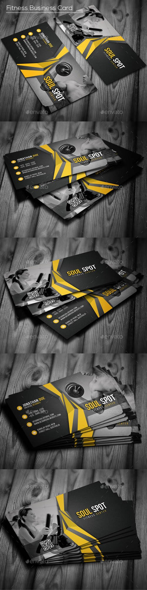 GR - Fitness Business Card 16835858