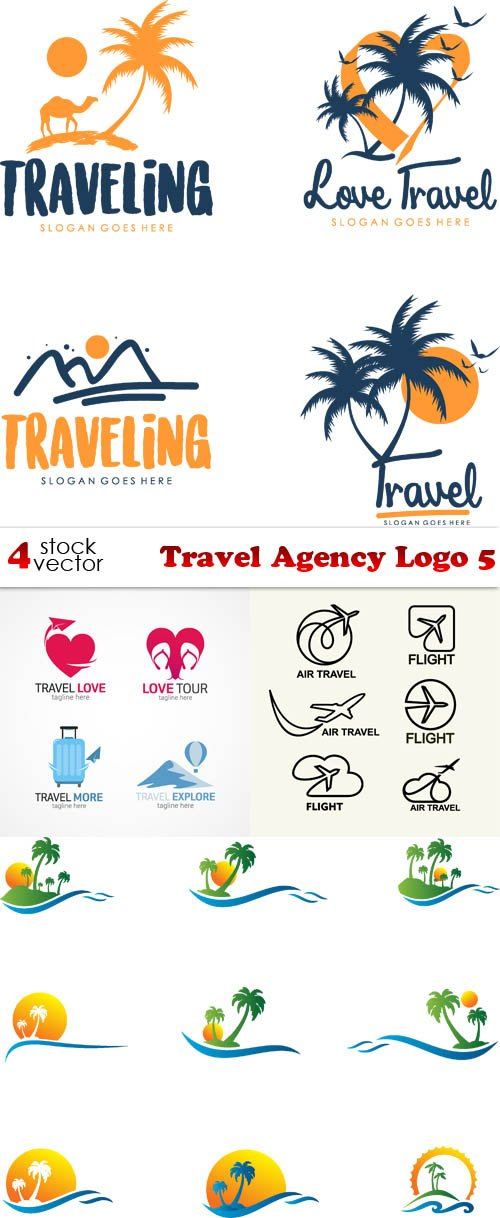 Vectors - Travel Agency Logo 5