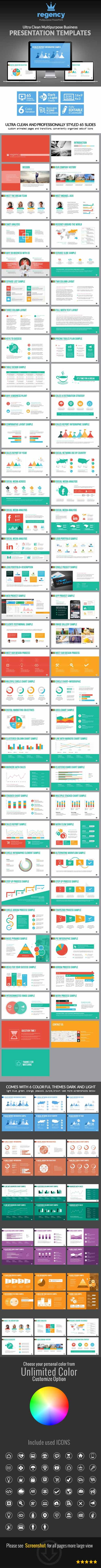 Clean Multipurpose Business Presentation Template 7640114