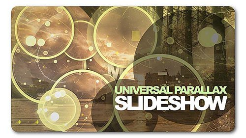 Universal Parallax Slideshow - Project for After Effects (Videohive)