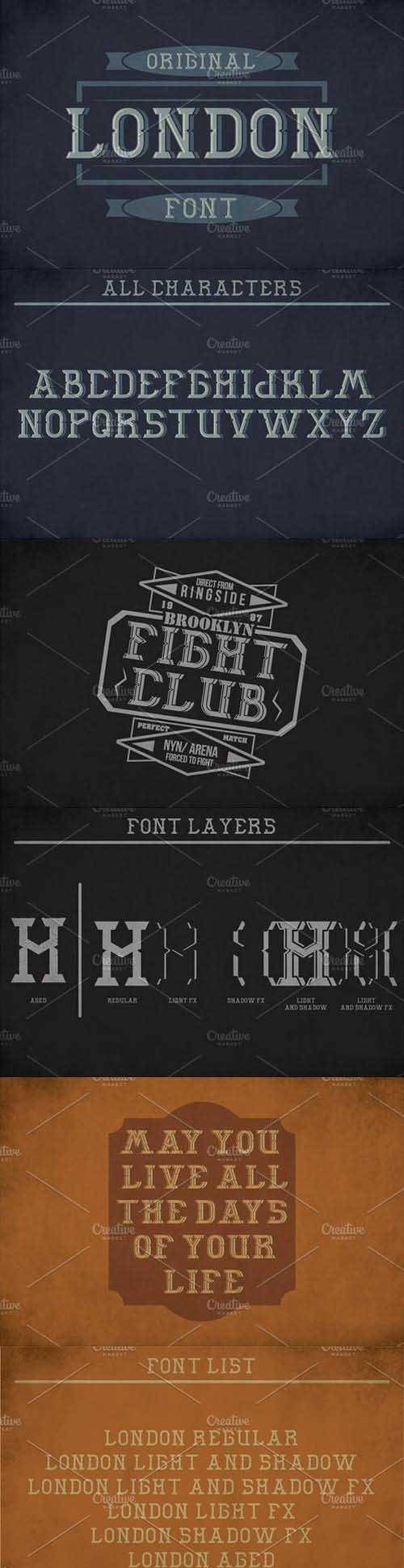 London Label Typeface 1448346