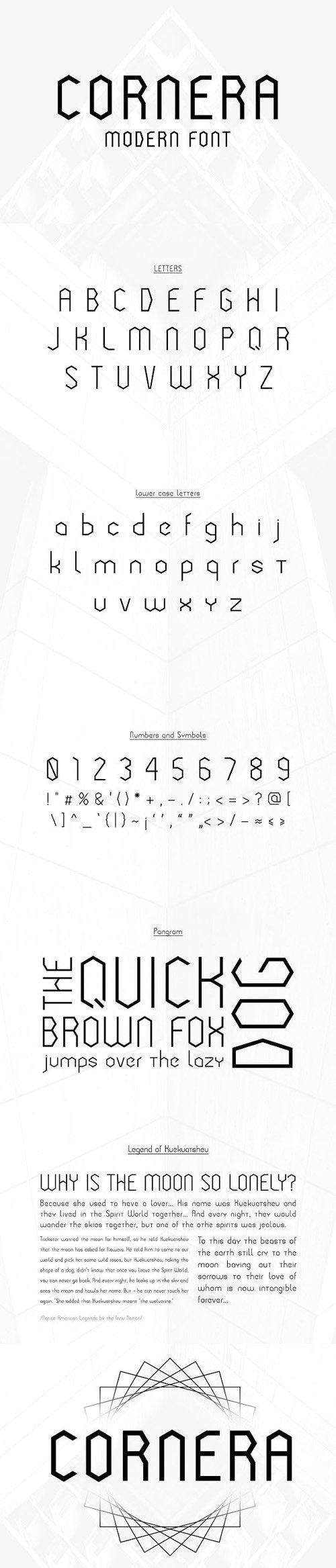 Cornera Font 1535415