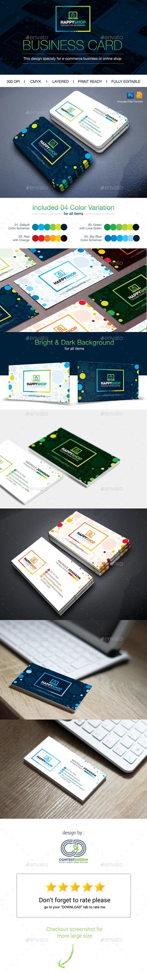 HappyShop : Business Card 14443456