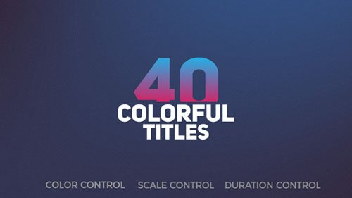 Title Pack 19882250 - Project for After Effects (Videohive)