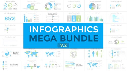 Infographics Mega Bundle 19185270 - Project for After Effects (Videohive)