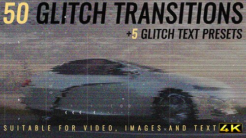 Glitch Transitions 19256451 - Project for After Effects (Videohive)