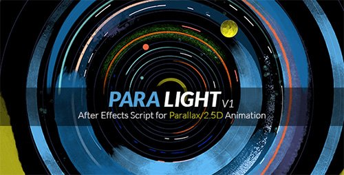 ParaLight | After Effects Script for Parallax/2.5D Animation (Videohive)