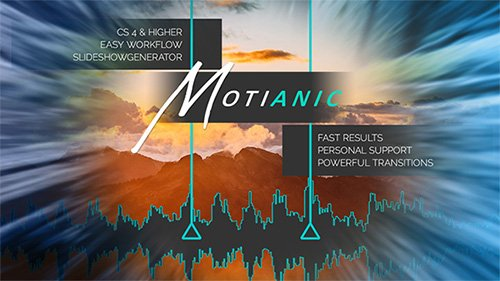 Motianic - Slideshow Creator - After Effects Project & Script (Videohive)