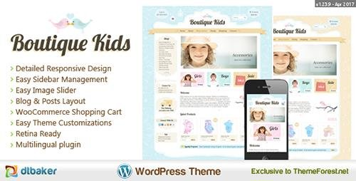 ThemeForest - Boutique Kids v1.23.9 - Creative WooCommerce Theme - 9367833