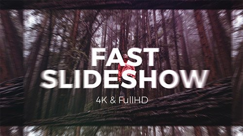 Fast Slideshow 19898075 - Project for After Effects (Videohive)