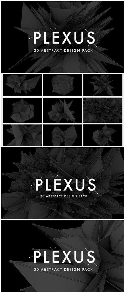 Plexus - 20 Abstract Design Pack