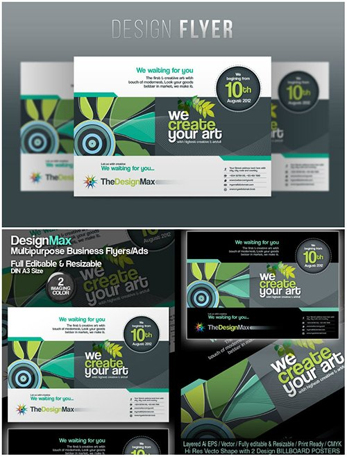 Design Max Business Flyer/Poster