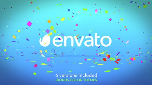 Confetti Logo - Project for After Effects (Videohive)