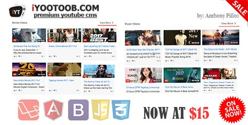 CodeCanyon - iYOOTOOB v1.0 - PREMIUM YOUTUBE CMS - 19773157
