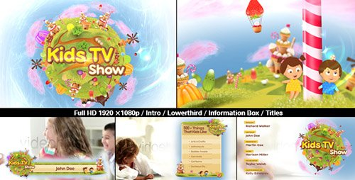 Kids TV Show Pack - Project for After Effects (Videohive)