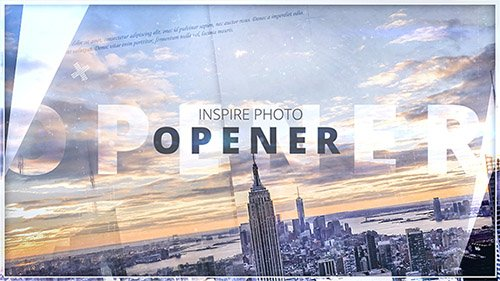 Inspire Photo Opener - Project for After Effects (Videohive)