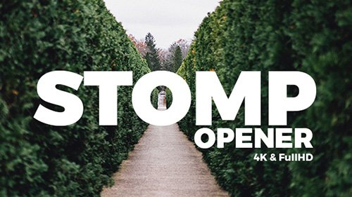 Stomp Opener 20000940 - Project for After Effects (Videohive)
