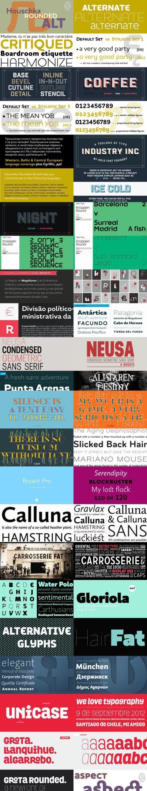225 Font Bundle Collection