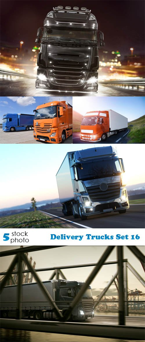 Photos - Delivery Trucks Set 16
