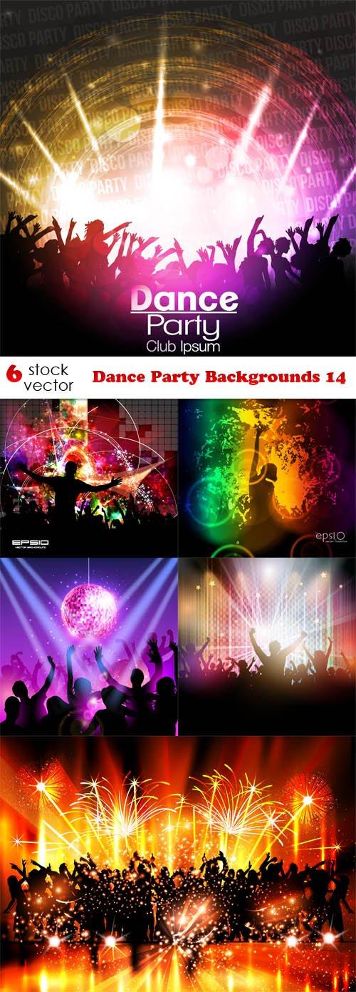 Vectors - Dance Party Backgrounds 14