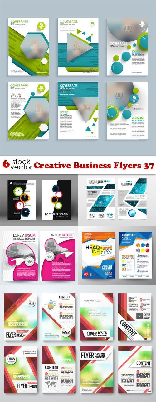 Vectors - Creative Business Flyers 37