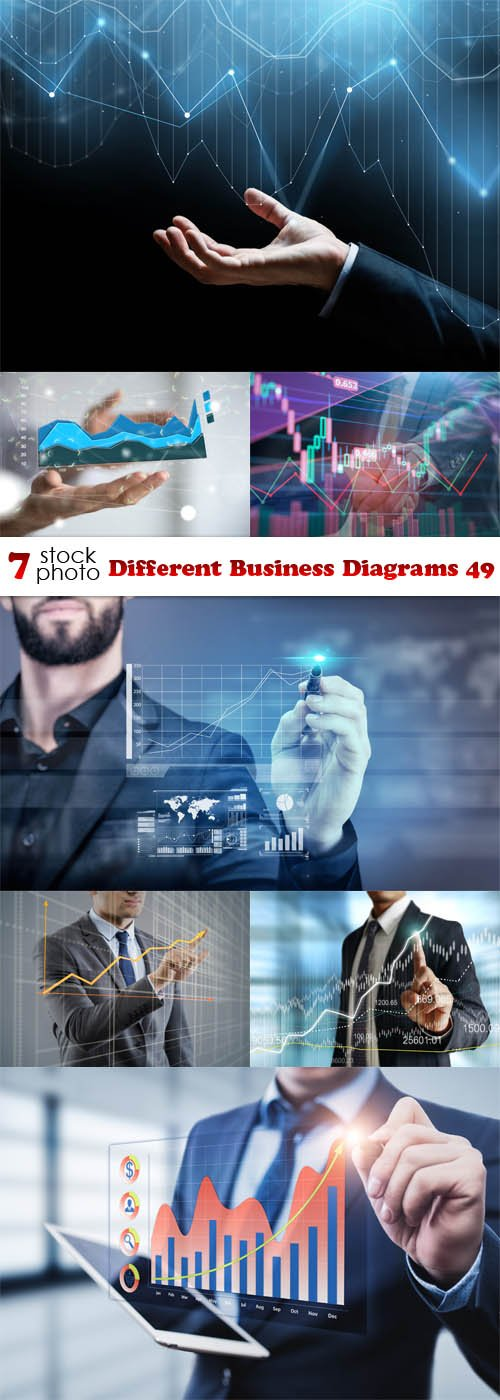 Photos - Different Business Diagrams 49