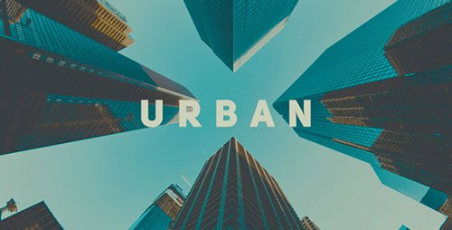 Dynamic Urban Slideshow 19998902 - Project for After Effects (Videohive)