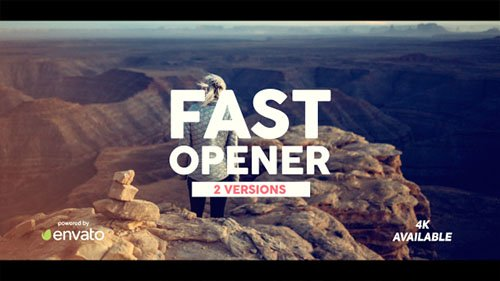 Fast Opener 20027138 - Project for After Effects (Videohive)