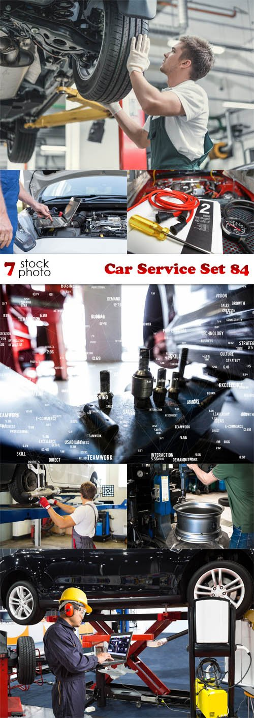 Photos - Car Service Set 84