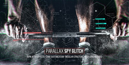 Parallax Spy Glitch - Project for After Effects (Videohive)