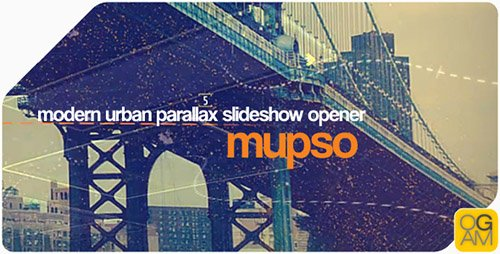 Modern Urban Parallax Slideshow Opener - Project for After Effects (Videohive)