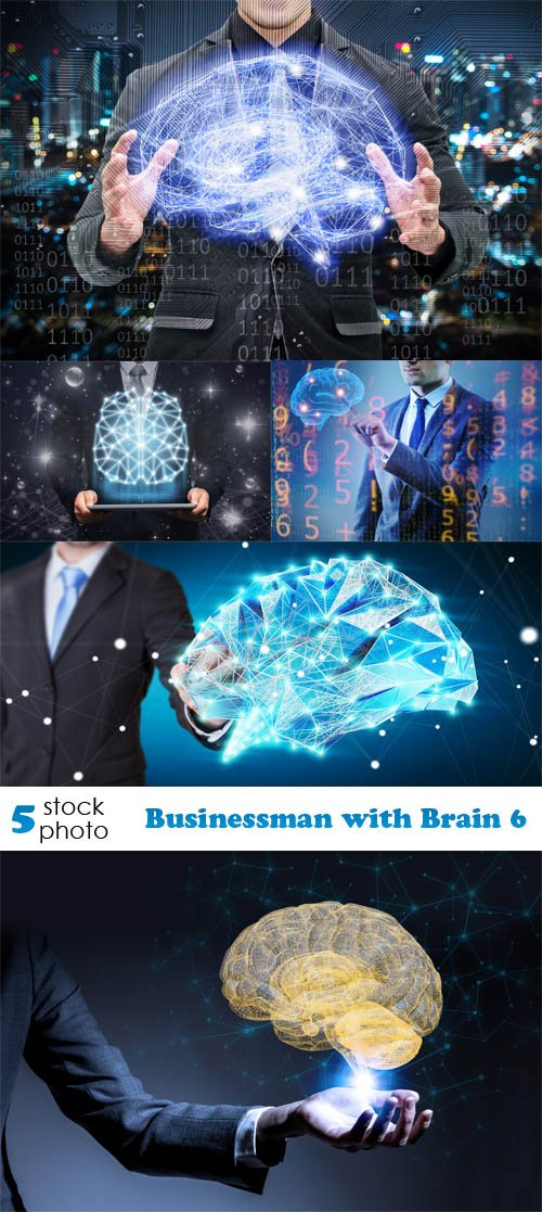 Photos - Businessman with Brain 6