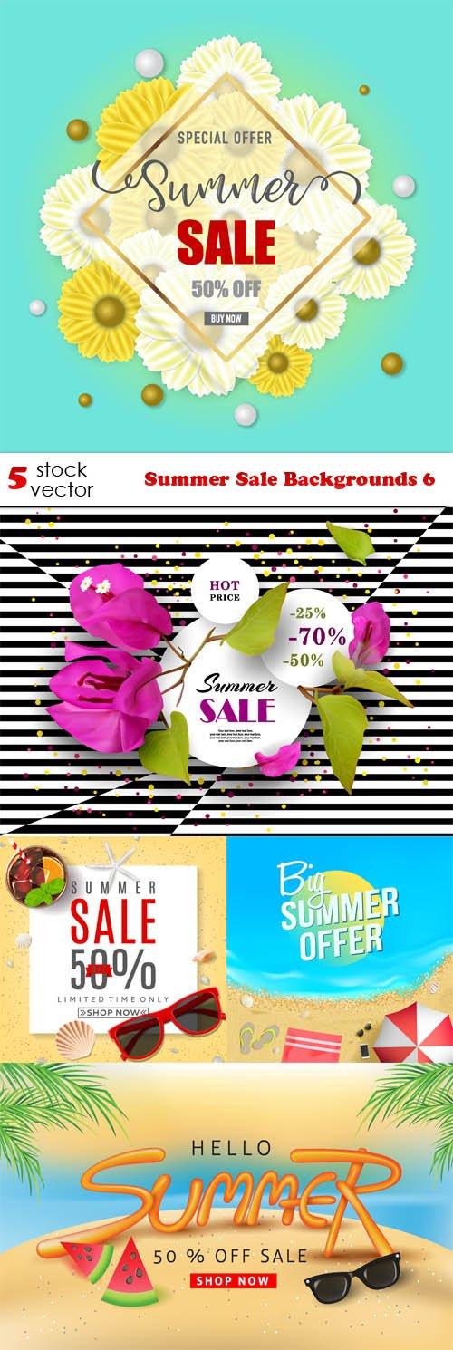 Vectors - Summer Sale Backgrounds 6