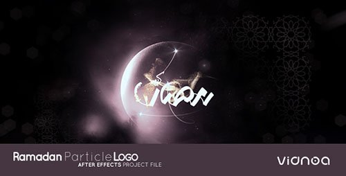 Ramadan Particle Logo - Project for After Effects (Videohive)