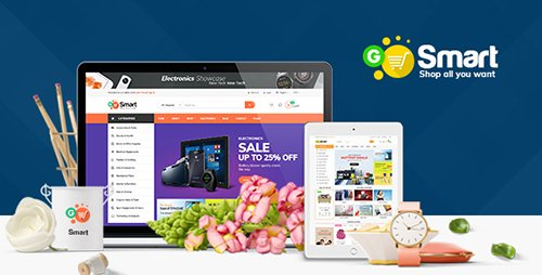 ThemeForest - Gosmart v1.0 - Magento 2 Template - 19717429