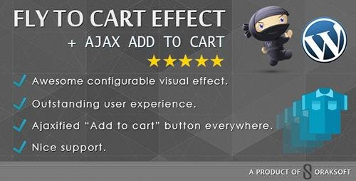CodeCanyon - WooCommerce Fly to Cart Effect + Ajax add to cart v1.2 - 10058071