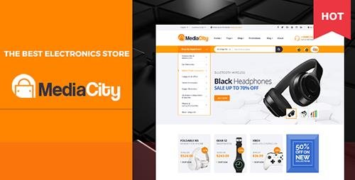 ThemeForest - MediaCity v1.0 - Technology Responsive Opencart Theme - 20073716