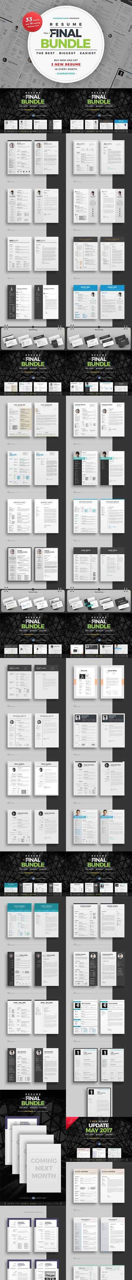 Resume/CV Full & Final Bundle 1409871