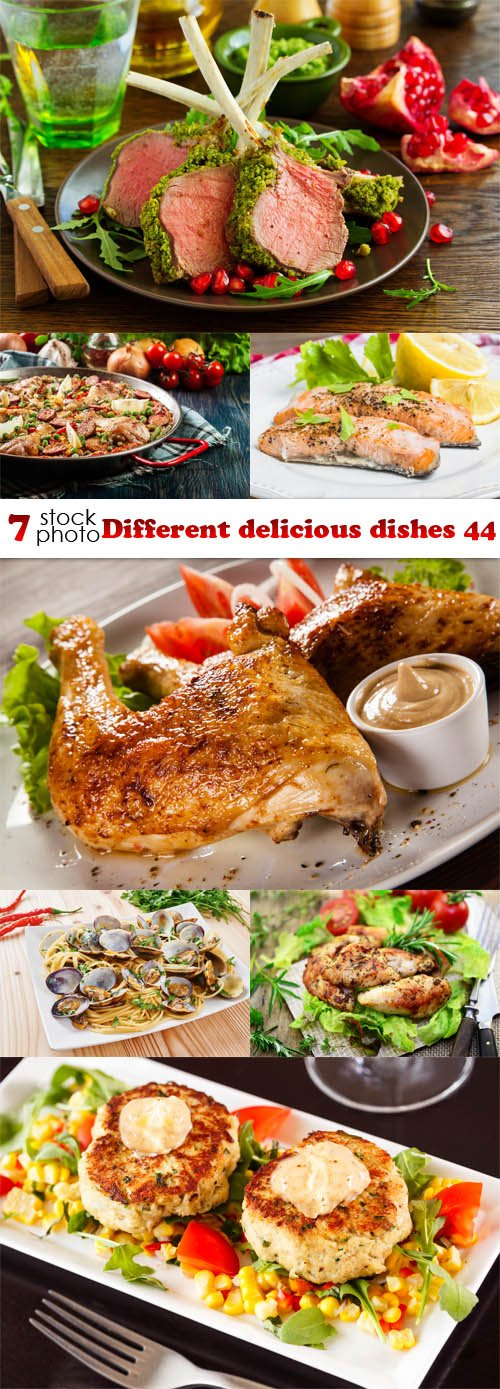 Photos - Different delicious dishes 44