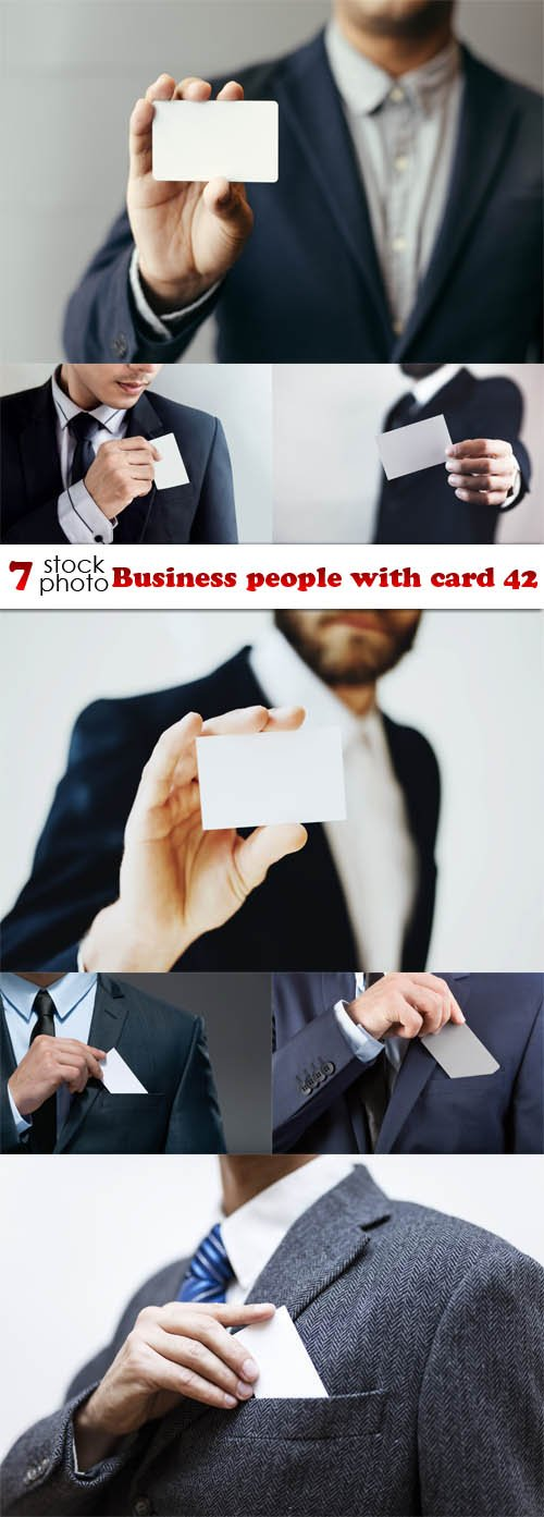 Photos - Business people with card 42