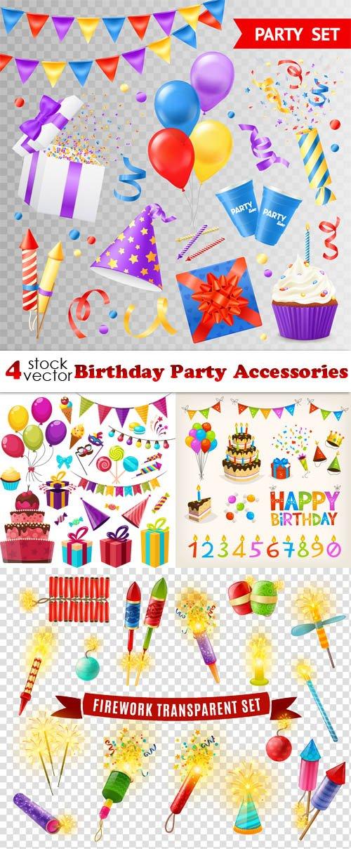 Vectors - Birthday Party Accessories