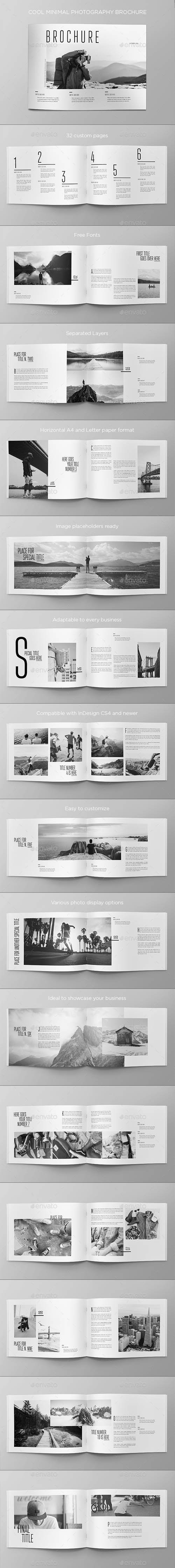 Cool Minimal Photography Brochure 20106581