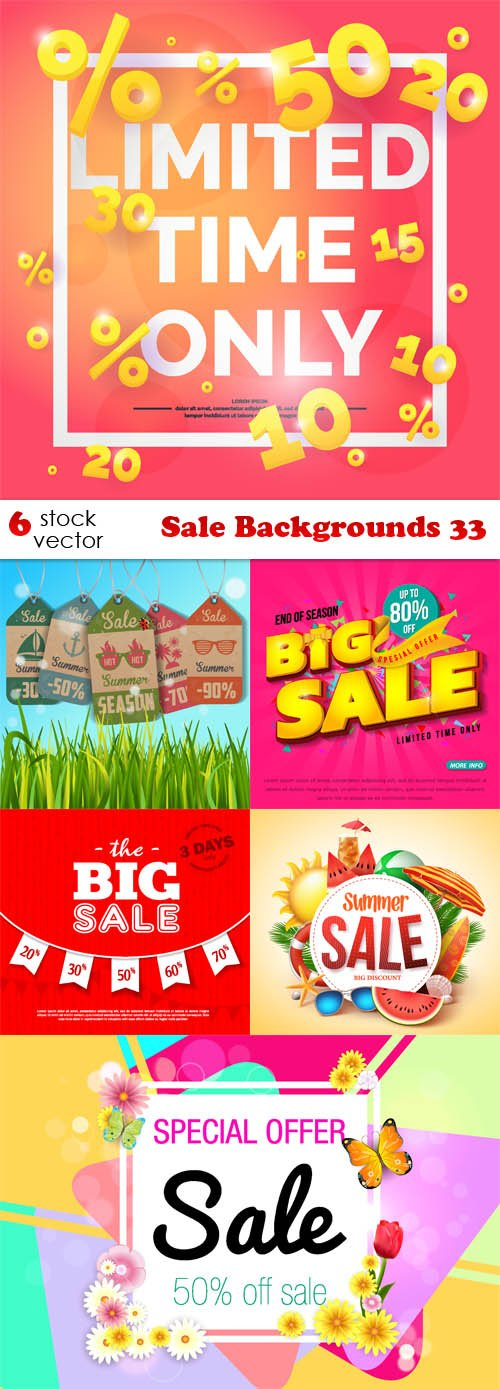 Vectors - Sale Backgrounds 33