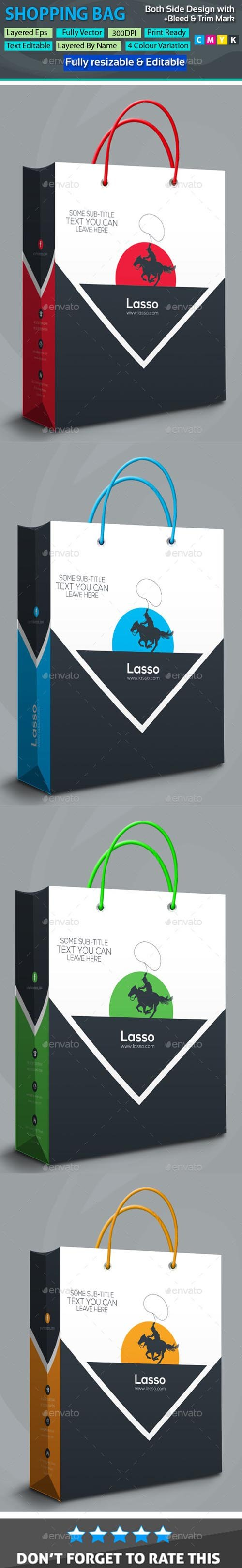 Lasso Shopping Bag 20106016