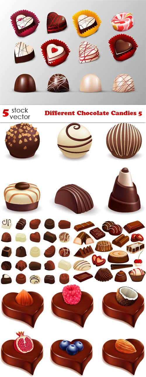 Vectors - Different Chocolate Candies 5