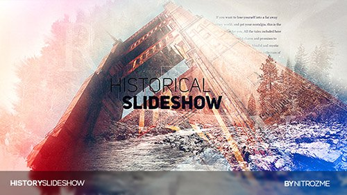 History Parallax - Project for After Effects (Videohive)